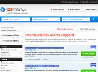 Finančný portál - 123pozicky.sk