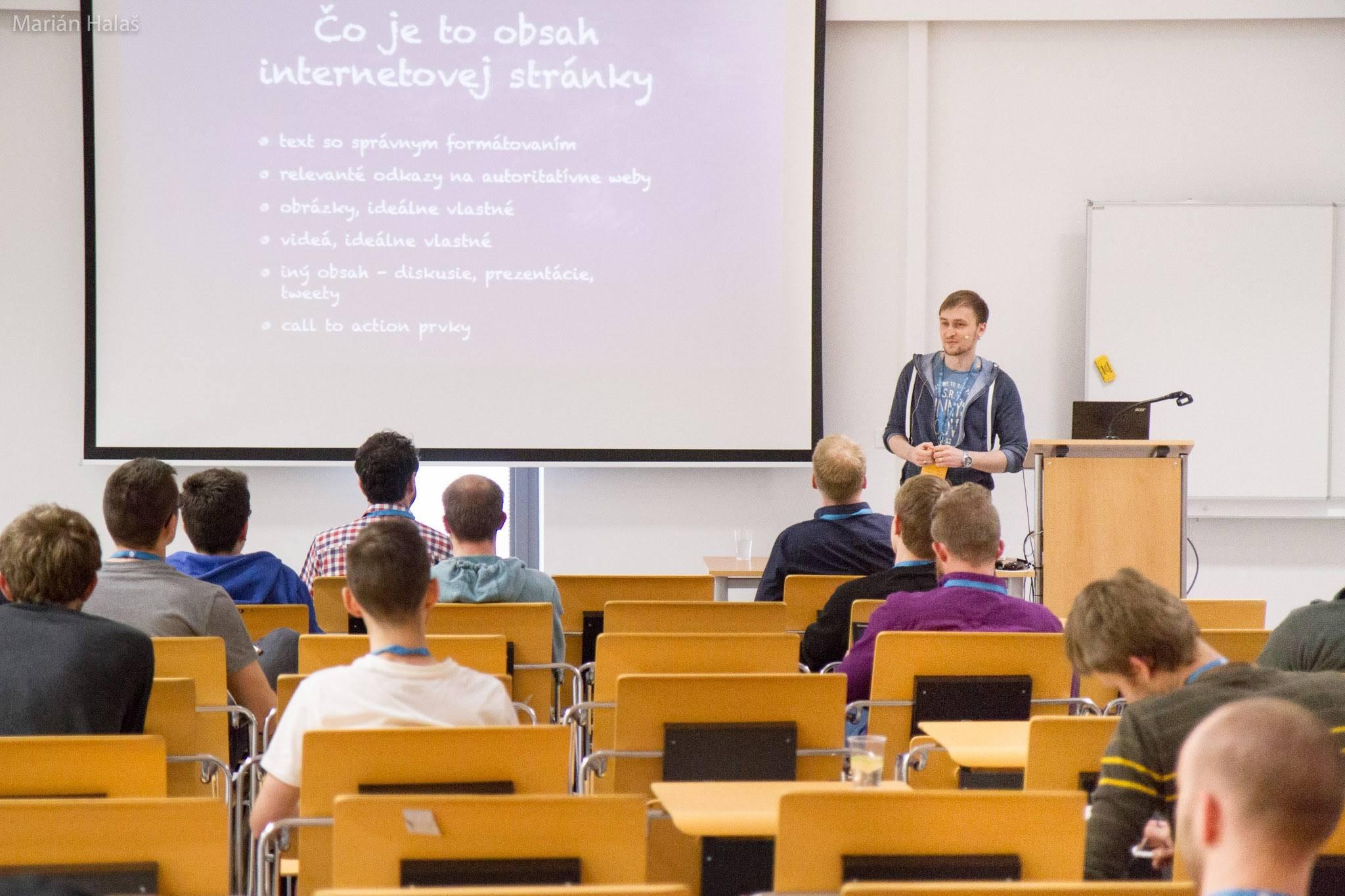 Wordcamp 2016 Bratislava - Ako tvoriť internetový obsah